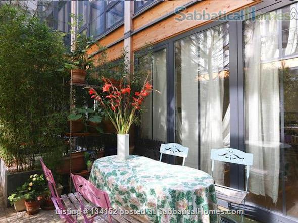 "3 bedrooms duplex with outdoor patios, ""like a house"" spirit Home Rental in Paris, Île-de-France, France 3"