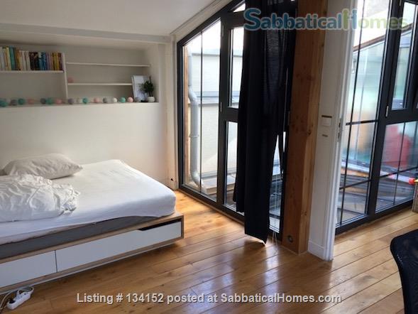 "3 bedrooms duplex with outdoor patios, ""like a house"" spirit Home Rental in Paris, Île-de-France, France 5"