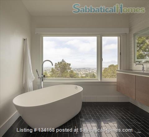 North Berkeley Hills House Near Campus with Panoramic Views Home Rental in Berkeley, California, United States 8