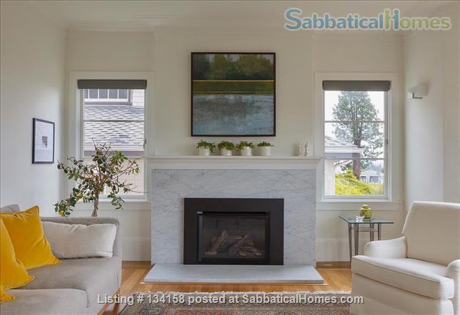 North Berkeley Hills House Near Campus with Panoramic Views Home Rental in Berkeley, California, United States 4