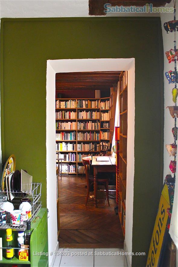 Quiet Studio Apartment in the Heart of Paris Home Rental in Paris, Île-de-France, France 1