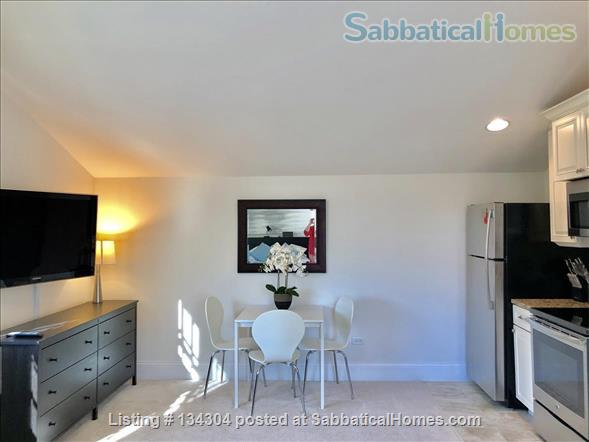 Bright, Fully Furnished Modern Coach House Apartment Available -- 2 blocks from Northwestern University Campus Home Rental in Evanston, Illinois, United States 2