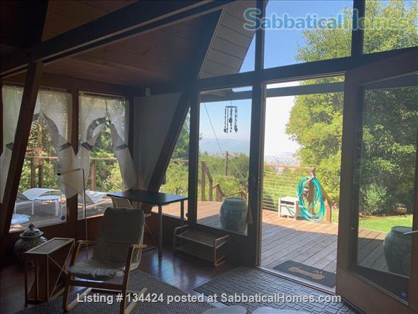 Spectacular Berkeley Hills A-Frame Home Rental in Berkeley, California, United States 1