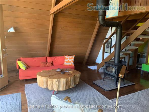 Spectacular Berkeley Hills A-Frame Home Rental in Berkeley 3