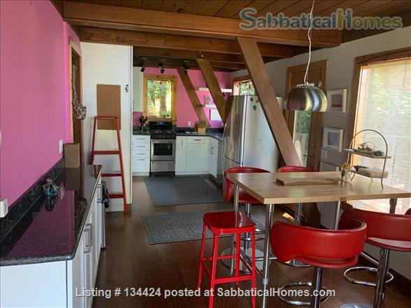 Spectacular Berkeley Hills A-Frame Home Rental in Berkeley 4