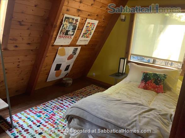 Spectacular Berkeley Hills A-Frame Home Rental in Berkeley, California, United States 7