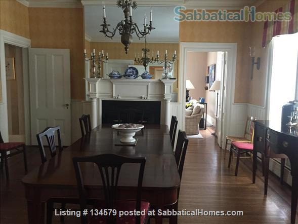 Great historic home walk to Brown and RISD  Home Rental in Providence, Rhode Island, United States 9