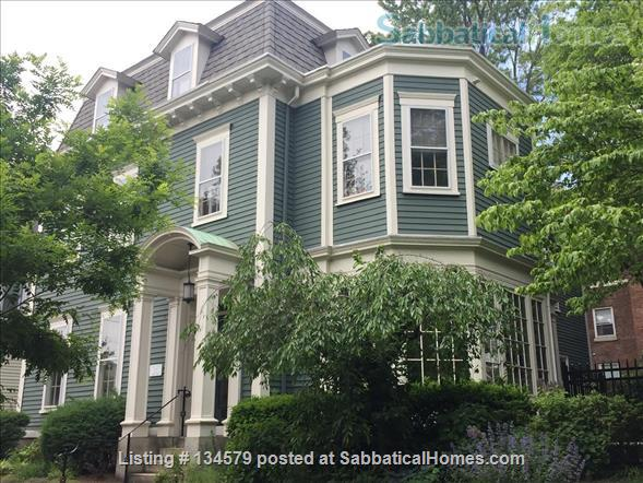 Great historic home walk to Brown and RISD  Home Rental in Providence, Rhode Island, United States 1