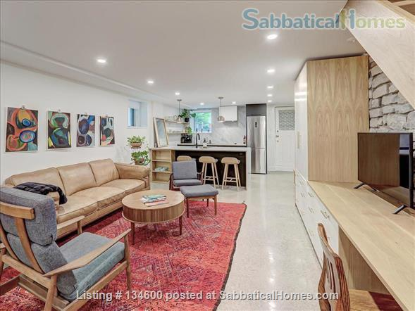 Newly Rennovated High-end Studio Apartment in Dufferin Grove Home Rental in Toronto, Ontario, Canada 0