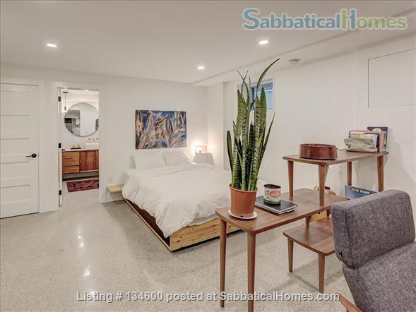 Newly Rennovated High-end Studio Apartment in Dufferin Grove Home Rental in Toronto, Ontario, Canada 2