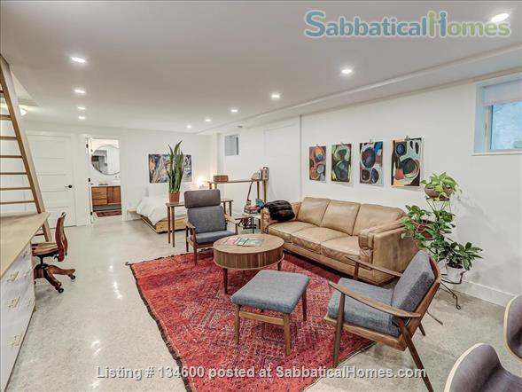 Newly Rennovated High-end Studio Apartment in Dufferin Grove Home Rental in Toronto, Ontario, Canada 7