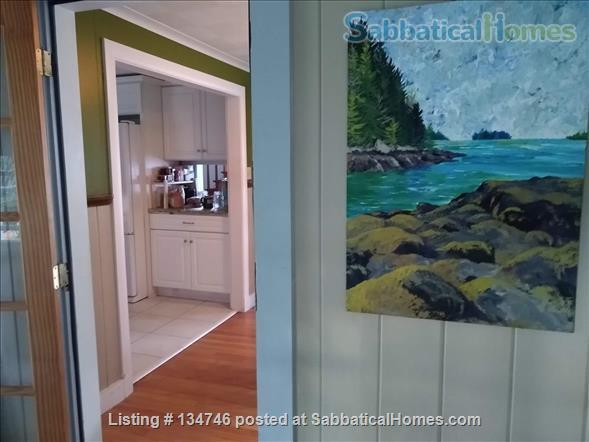 Beautiful Artist Lakehouse Home Rental in Winthrop, Maine, United States 1