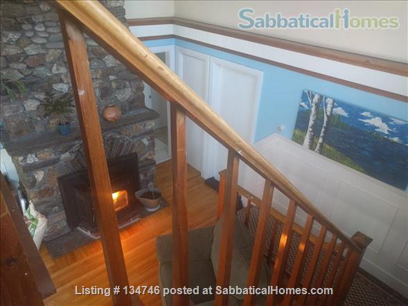 Beautiful Artist Lakehouse Home Rental in Winthrop, Maine, United States 4