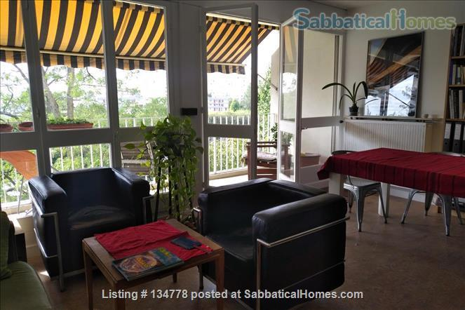 Fully furnished, spacious, and superbly located apartment for rent.  Home Rental in L'Île-Saint-Denis, Île-de-France, France 0