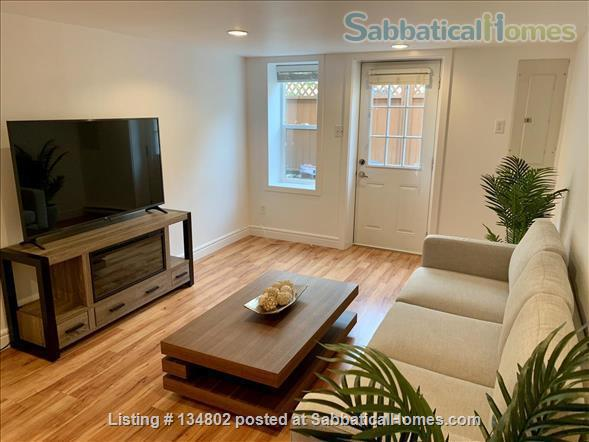Fantastic location, newly furnished legal 2 bedroom suite  Home Rental in Victoria, British Columbia, Canada 1