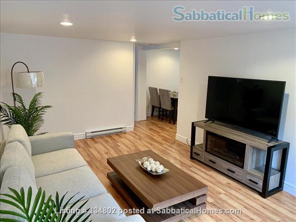 Fantastic location, newly furnished legal 2 bedroom suite  Home Rental in Victoria, British Columbia, Canada 0
