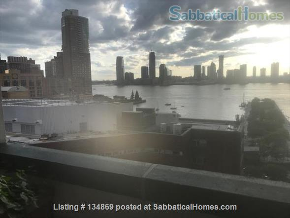 New York  Lovely two bedroom Apartment in Tribeca Overlooking Hudson Home Rental in New York 9