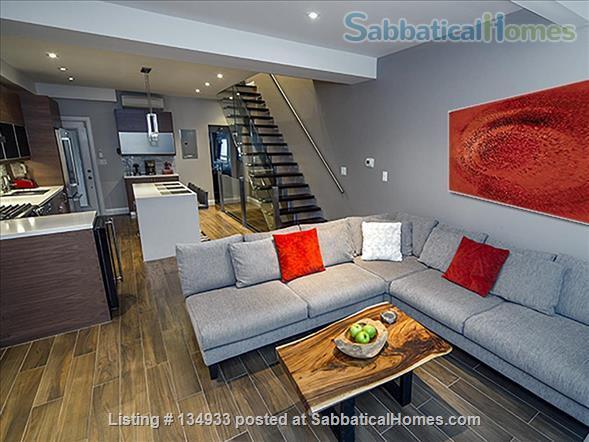 STUNNING 2 FLOOR APT (1BDRM) IN LESLIEVILLE! Home Rental in Toronto, Ontario, Canada 0
