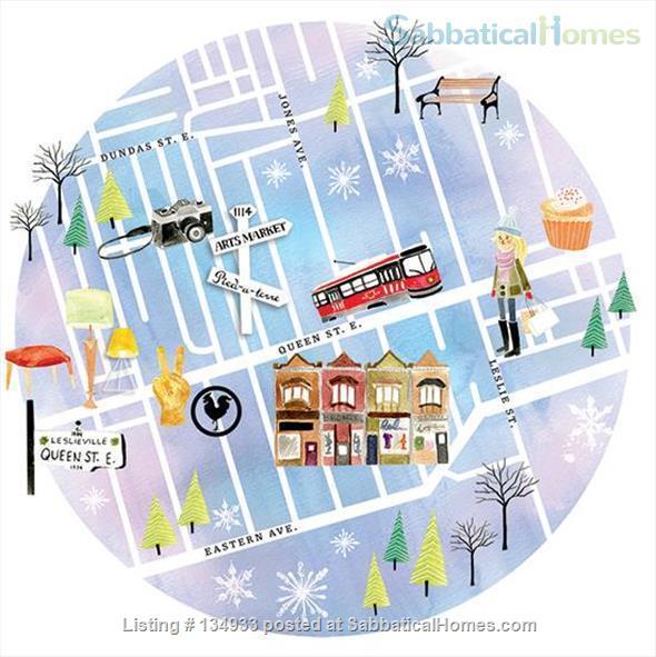 STUNNING 2 FLOOR APT (1BDRM) IN LESLIEVILLE! Home Rental in Toronto, Ontario, Canada 9