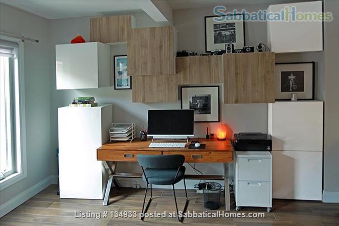 STUNNING 2 FLOOR APT (1BDRM) IN LESLIEVILLE! Home Rental in Toronto, Ontario, Canada 2