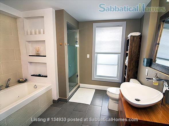 STUNNING 2 FLOOR APT (1BDRM) IN LESLIEVILLE! Home Rental in Toronto, Ontario, Canada 4