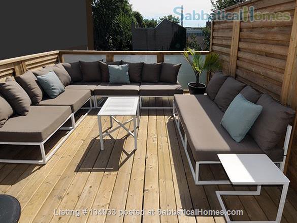 STUNNING 2 FLOOR APT (1BDRM) IN LESLIEVILLE! Home Rental in Toronto, Ontario, Canada 8