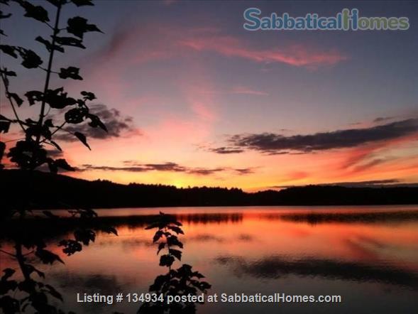 Lake Front Property Seasonal Rental Home Rental in Shutesbury, Massachusetts, United States 1