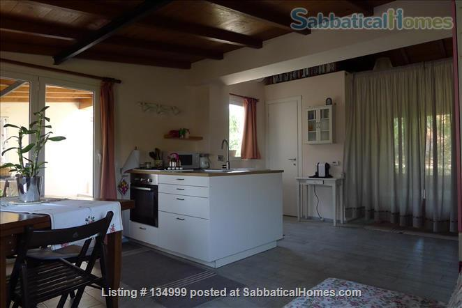 MONTE VERDE VECCHIO FURNISHED LOFT WITH PRIVAT TERRACE  SURROUNDED   by a lovely  garden Home Rental in Roma, Lazio, Italy 0