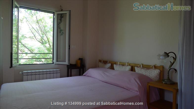 MONTE VERDE VECCHIO FURNISHED LOFT WITH PRIVAT TERRACE  SURROUNDED   by a lovely  garden Home Rental in Roma, Lazio, Italy 4