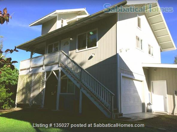Big Island of Hawaii - teach from our home - or just enjoy your sabbatical  Home Rental in Keaau, Hawaii, United States 1