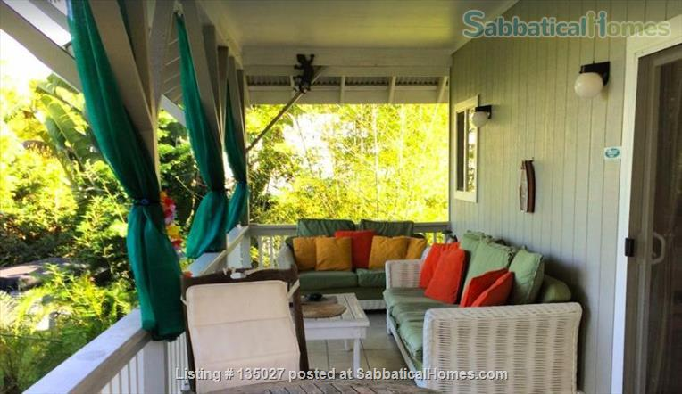 Big Island of Hawaii - teach from our home - or just enjoy your sabbatical  Home Rental in Keaau, Hawaii, United States 0