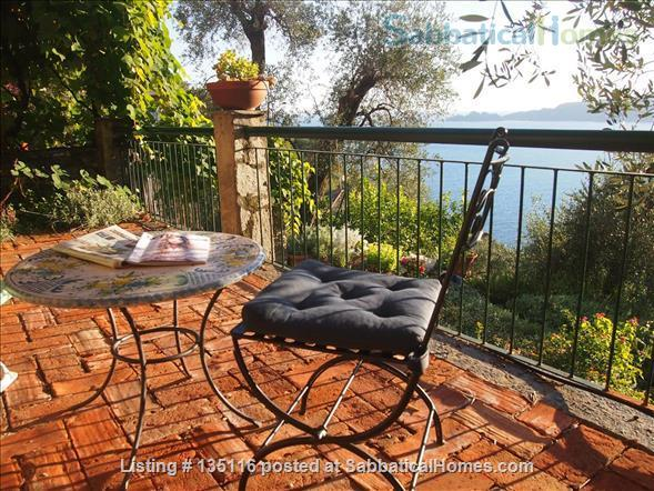 Quiet house with amazing view in the Italian Riviera Home Rental in Zoagli, Liguria, Italy 0