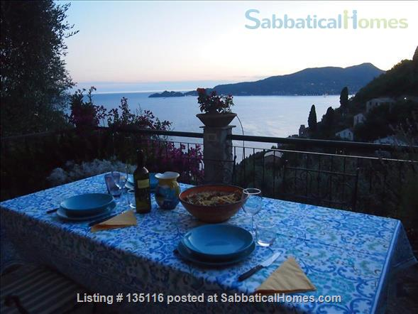 Quiet house with amazing view in the Italian Riviera Home Rental in Zoagli, Liguria, Italy 2