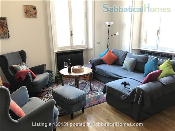 MONTI FAMILY FURNISHED SABBATICAL HOME NEXT TO COLOSSEO Via Madonna dei Monti. Home Rental in Roma, Lazio, Italy 1