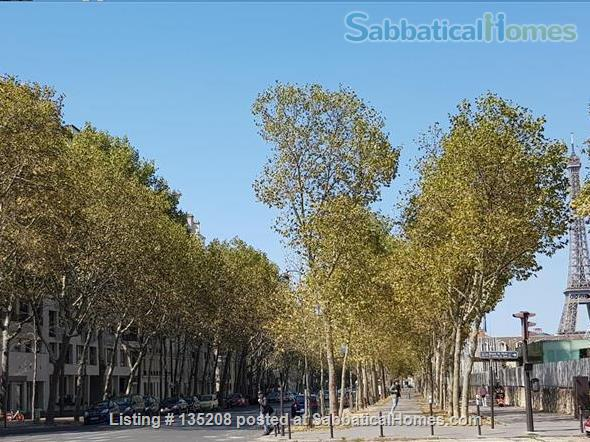 Paris, left bank, close to everything by foot, bike or metro. Terrace Home Exchange in Paris, Île-de-France, France 9