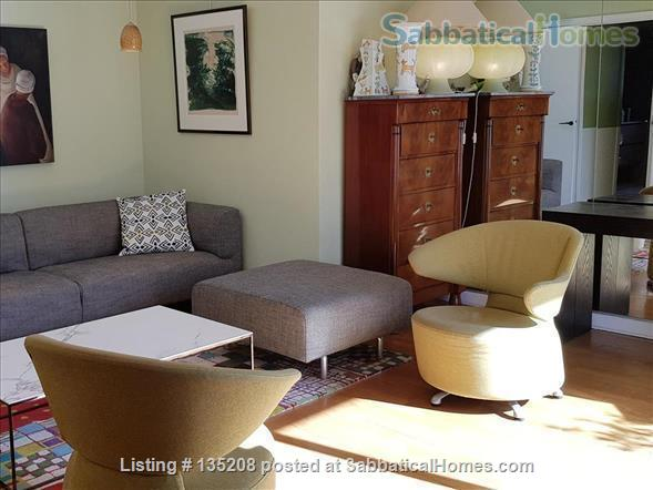 Paris, left bank, close to everything by foot, bike or metro. Terrace Home Exchange in Paris, Île-de-France, France 1