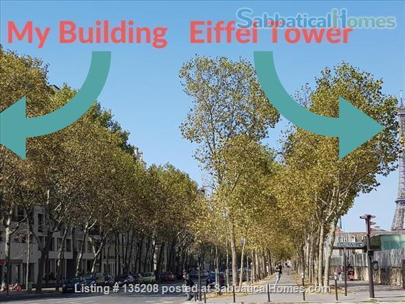 Paris, left bank, close to everything by foot, bike or metro. Terrace Home Exchange in Paris, Île-de-France, France 7