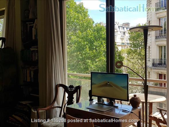 Paris, left bank, close to everything by foot, bike or metro. Terrace Home Exchange in Paris, Île-de-France, France 8