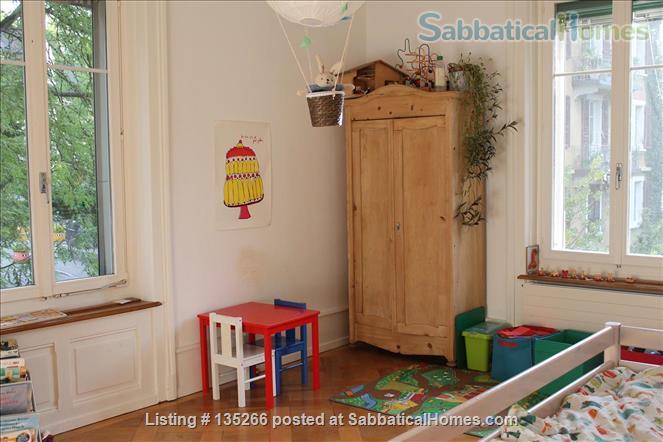 Big, beautiful and central 4.5 room apartement in Bern, Switzerland Home Exchange in Bern, BE, Switzerland 5