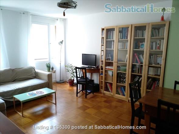 One bedroom recently renovated flat near Parc des Buttes-Chaumont Home Rental in Paris, Île-de-France, France 1