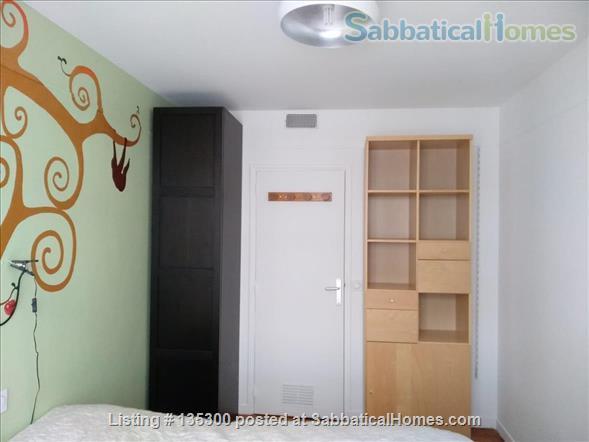 One bedroom recently renovated flat near Parc des Buttes-Chaumont Home Rental in Paris, Île-de-France, France 3