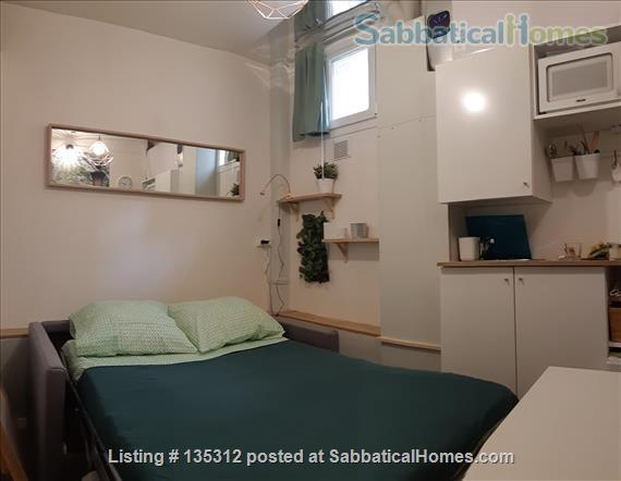 Cute  Studio  next to historic park Home Rental in Paris 2 - thumbnail