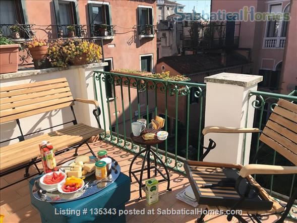 A lovely home for 4-6 persons near Ca d'Oro (Cannaregio) with large terrace, elevator, beamer and other amenities Home Rental in Venice, Veneto, Italy 1