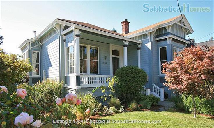 Historic Family Home just blocks to UC Berkeley Home Rental in Berkeley, California, United States 1