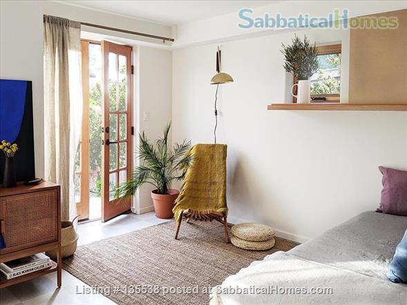 Short Term Rent - Private Garden Bungalow in Glassell Park (Occidental, Art Center, JPL, USC) Home Rental in Los Angeles, California, United States 1
