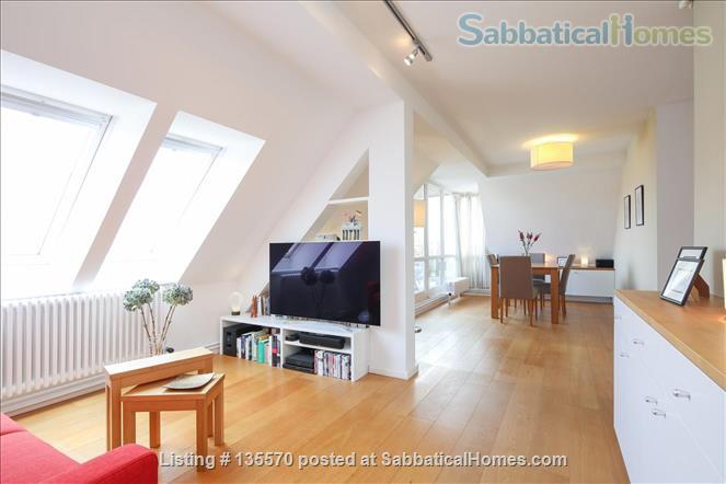 Light and airy loft apartment with a stunning balcony Home Rental in Berlin, Berlin, Germany 1