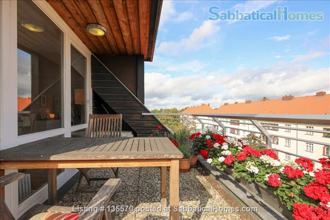 Light and airy loft apartment with a stunning balcony Home Rental in Berlin, Berlin, Germany 0