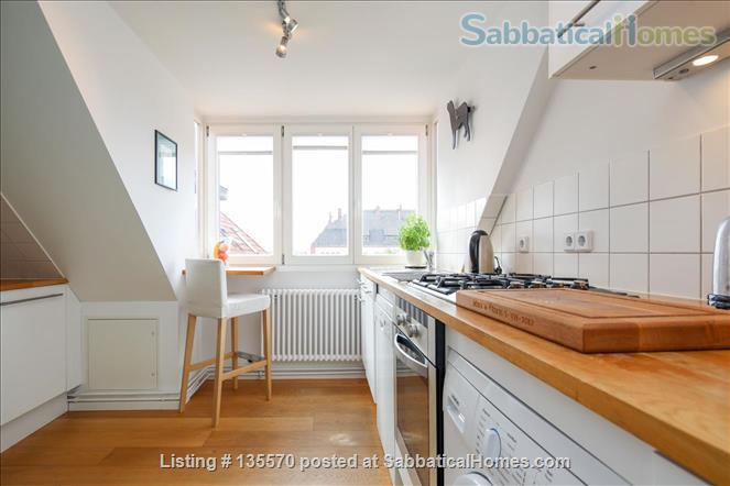 Light and airy loft apartment with a stunning balcony Home Rental in Berlin, Berlin, Germany 4