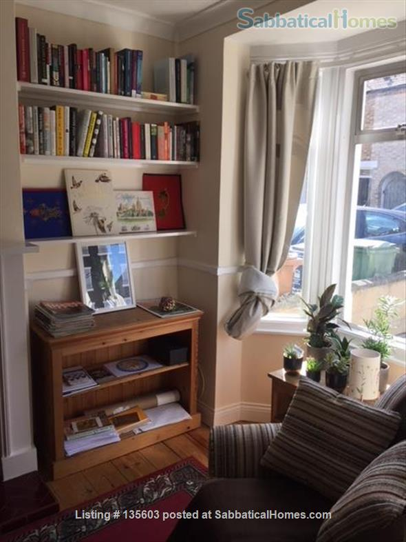 Victorian Mid Terraced House (with Garden) in Oxford Home Rental in Oxfordshire, England, United Kingdom 2