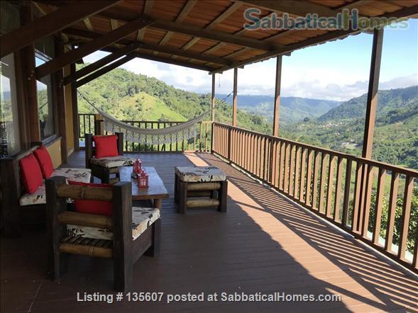Elegant Home in Private Ecological Property Home Rental in Nanegalito, Pichincha, Ecuador 1